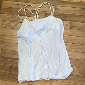 Lululemon built in bra tank top shirt blouse